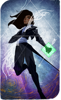 Tarot Card :Commission by AlexielApril