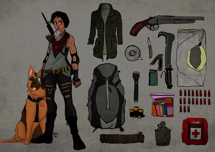 Deviantart Design A Character : Survivor character design by alexielapril on deviantart