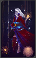 Commission:Monk Drow by AlexielApril
