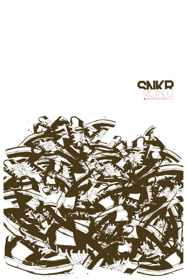 SNEAKERS RUIN U by Ikkooo