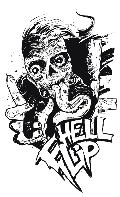 wasted hell flip by Ikkooo