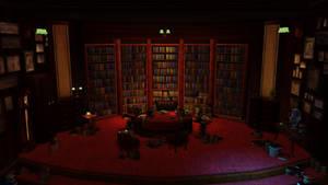 Hellboy Scene - Semi Circle Room