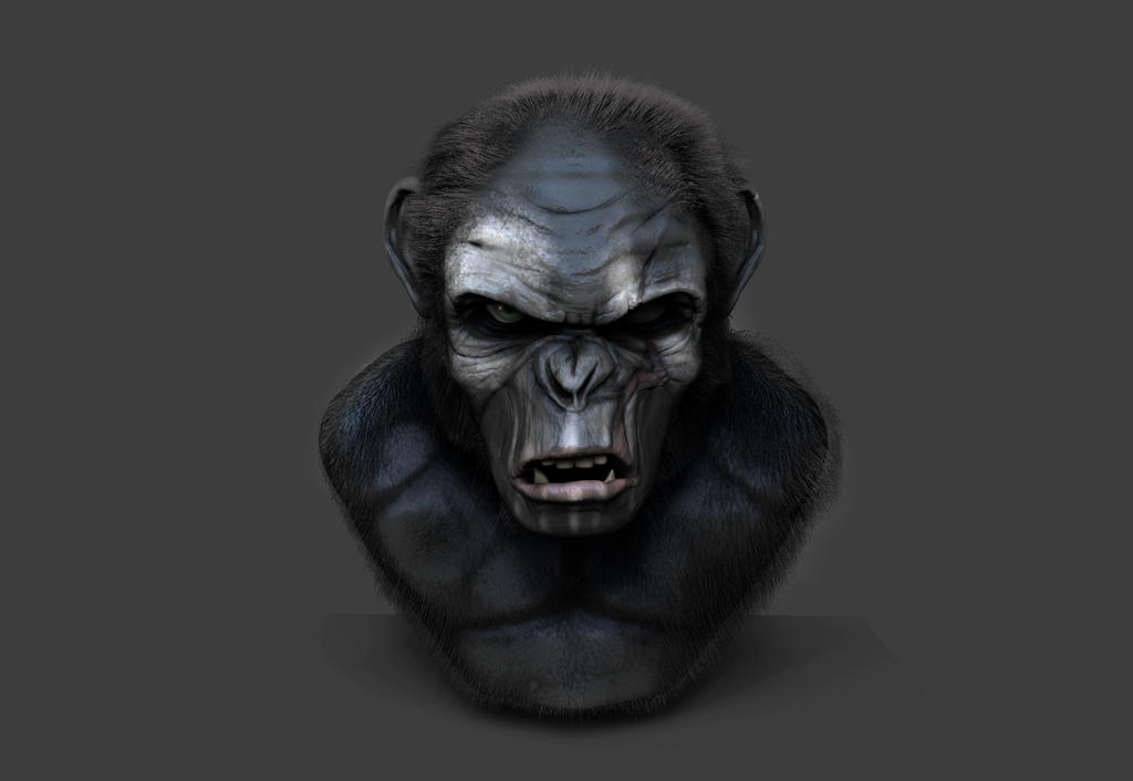 Koba (Planet of the Apes) by Enexus on DeviantArt