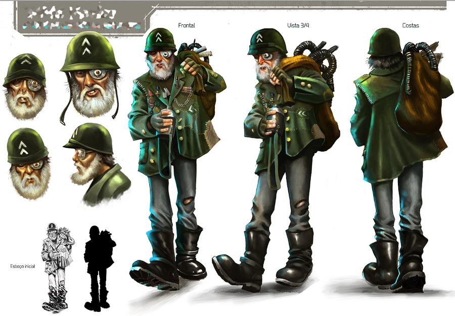 Character Design Concept : Concept character design by wilsonjr on deviantart