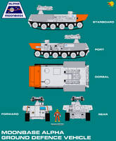 Moonbase Alpha Ground Defence Vehicle