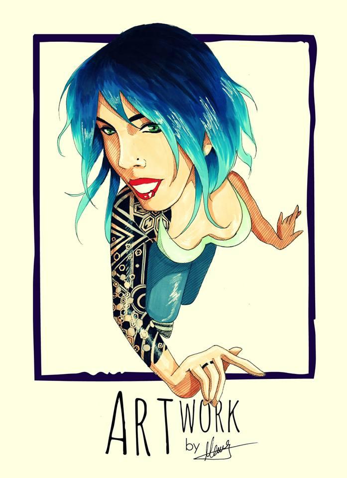 I'm blue by DoICrossYourMind