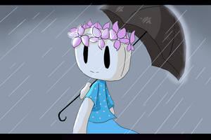 It's raining - Fanart