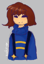 Outer Frisk by GhostChild101