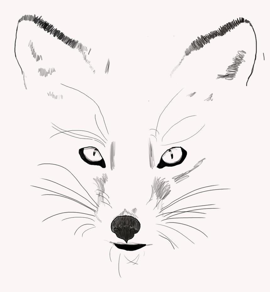 fox outline by spottedearmc95 on deviantart