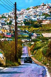 Santorini country road 2017