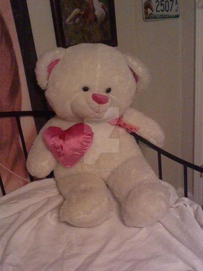 teddy bear by MollyMay335
