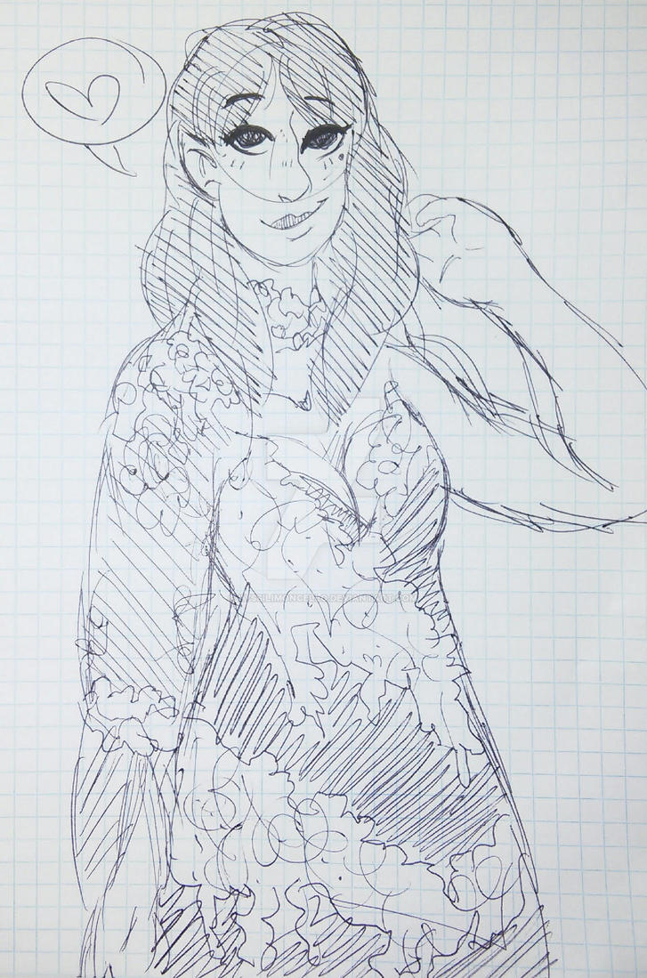 [APH] Puuurrttyy Dress by PaperInquisitor