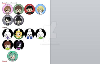 Button Catalog Part 5 by HaruBlossom