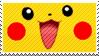 Pikachu Stamp by Nimbose