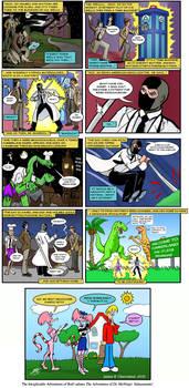 Dr. McNinja / Inexplicable Adventures of Bob!