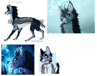 Wolf auction [OPEN] by SiMadgrev