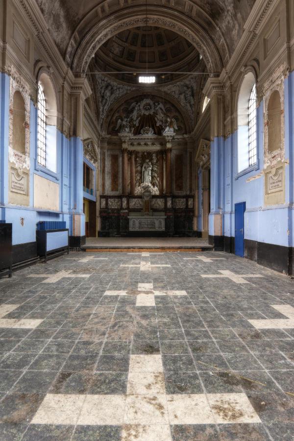 Eglise ecole devant 03 by yanshee