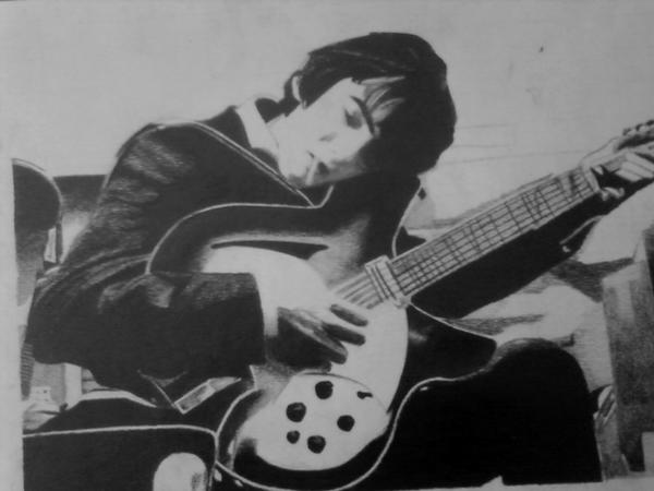 while his guitar gently weeps by Macca4ever