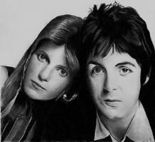 Paul and Linda McCartney II