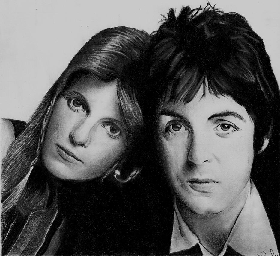 Paul and Linda McCartney II by Macca4everPaul Mccartney And Linda 2013