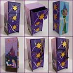 Tangled Rapunzel handpainted jewelry box