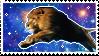 galaxy lion stamp by damnashen