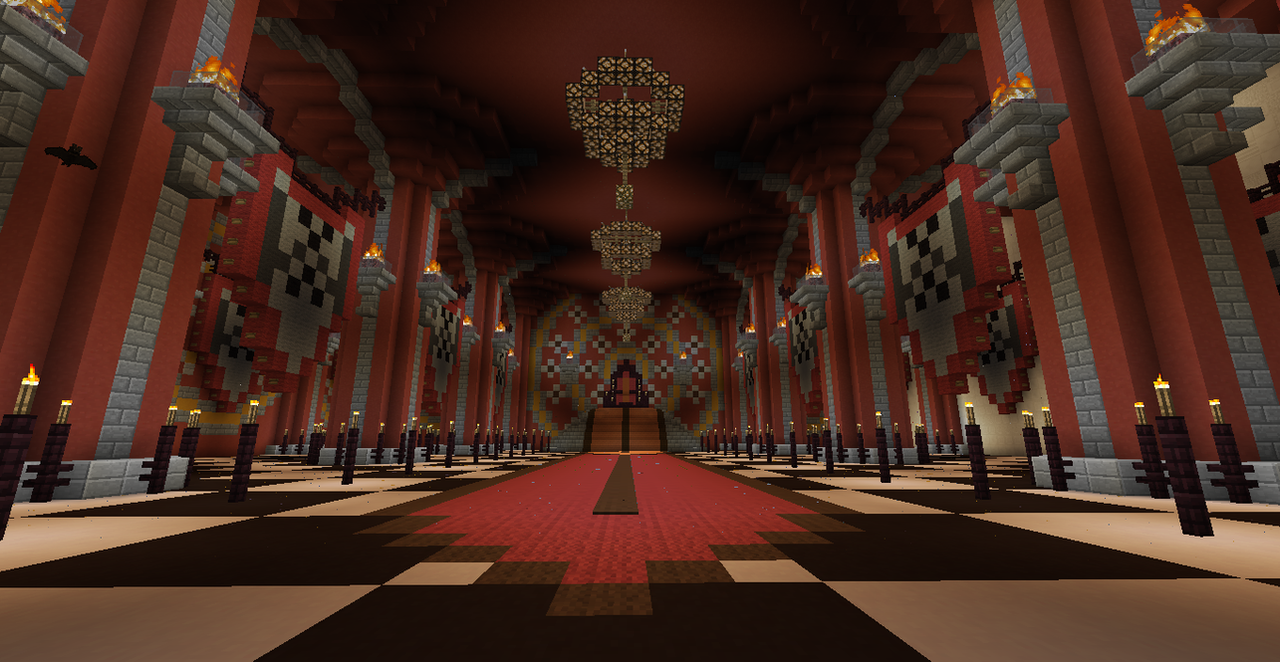 minecraft throne room ideas carmina 39 s palate throne room