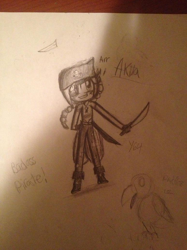 My OC: Akila: Badass pirate!! by yasmyn64