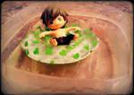 Makoto is in the pool. by yasmyn64
