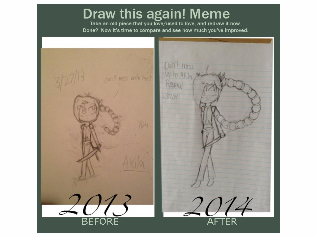 Draw this again meme. by yasmyn64