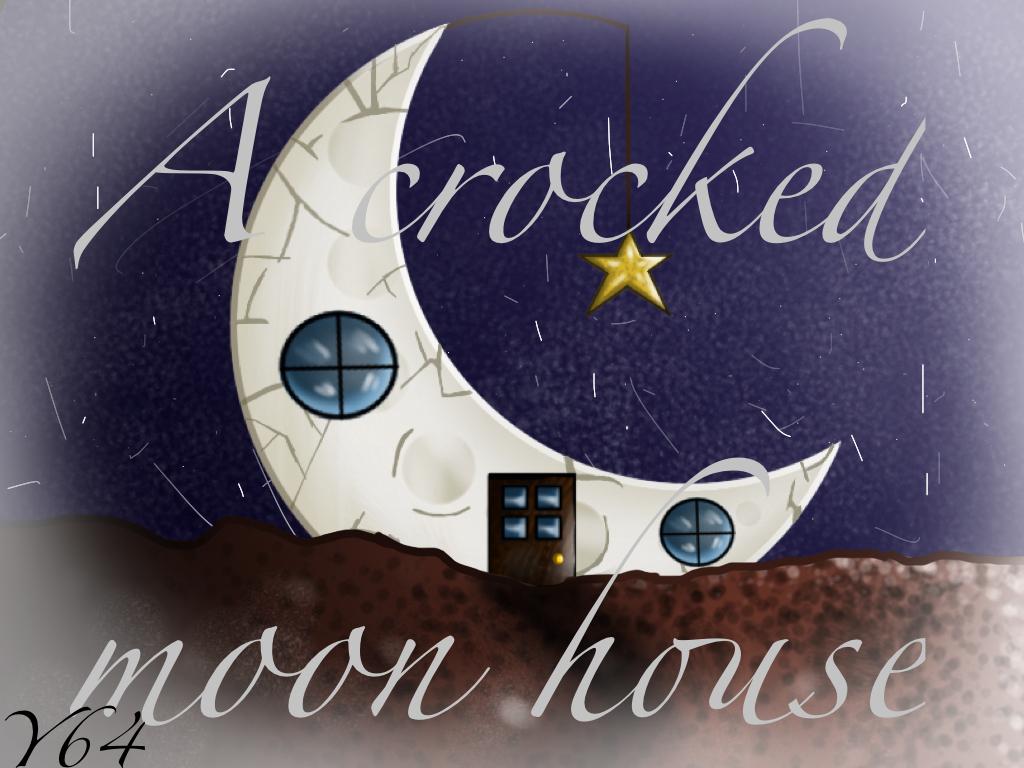 A crocked moon house.. by yasmyn64
