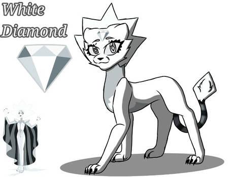 White Diamond Cat