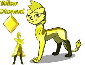 Yellow Diamond Cat