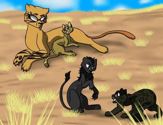 Ushio and Tora Big Cat AU