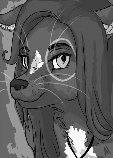 Kitty by ScottiLady