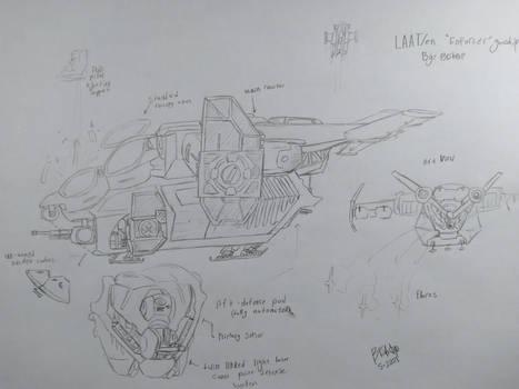 LAAT/en ''Enforcer'' Concept page 2