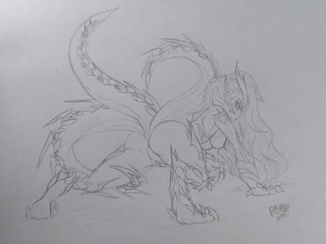 Sonya ''Semi-feral'' Kilnworld (Commission)
