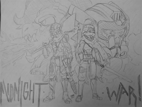Midnight-war