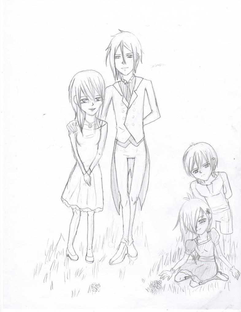 Anime family by Ayaka432