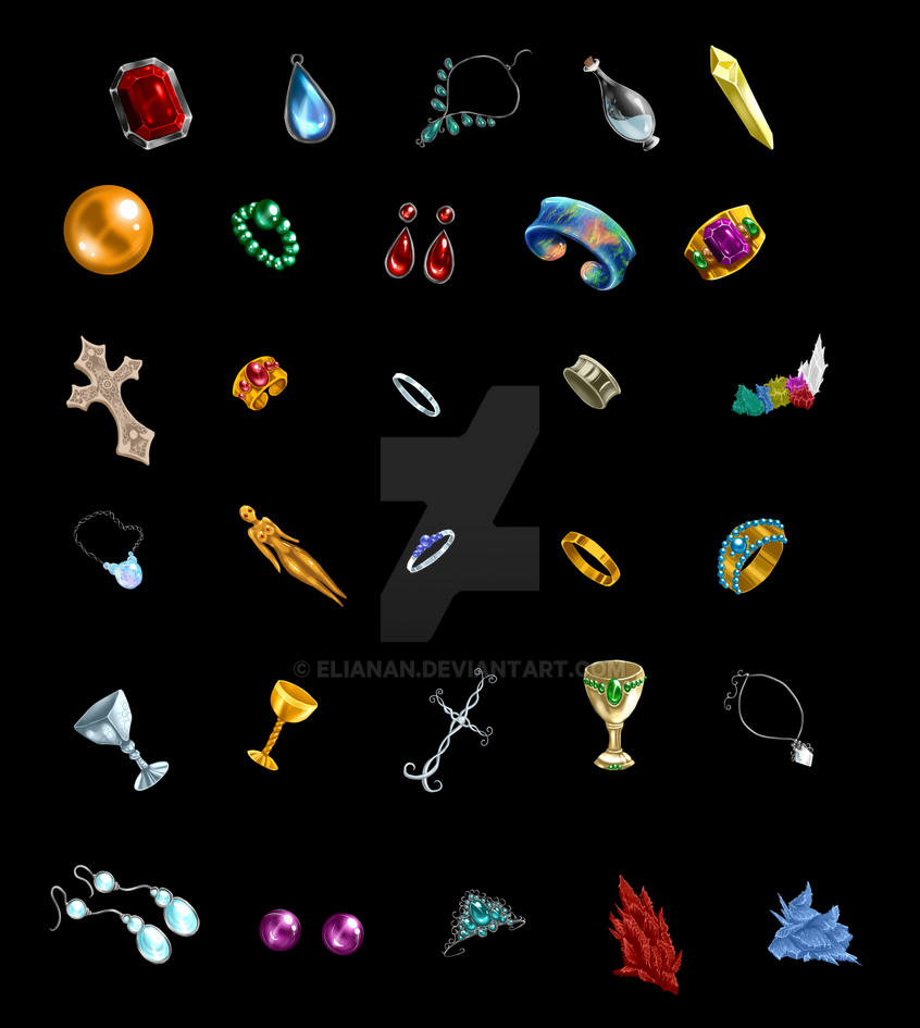 msoa in game items p2 by elianan on deviantart