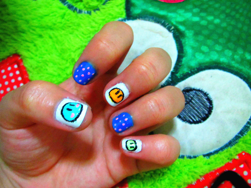 Clannad anime nail art by myway1540 on deviantart clannad anime nail art by myway1540 prinsesfo Gallery