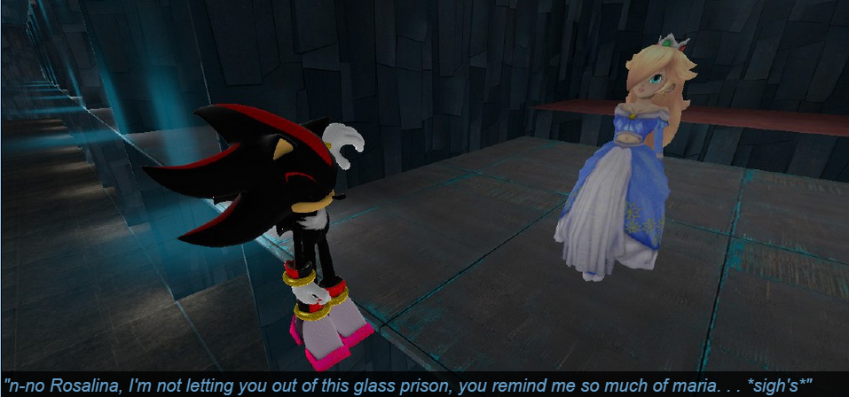 Shadow Kidnapped Rosalina By Regularshowandsonic On