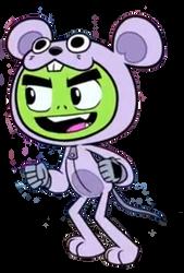 Furry Beast Boy Transparent SQUEAK SQUEAK FOOL