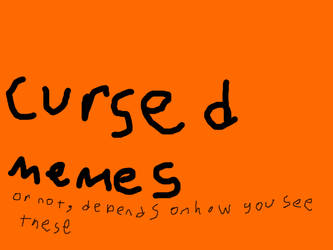 Cursed Memes sign for tower Unite