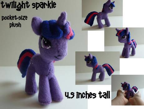 Twilight Sparkle Pocket-size Plush