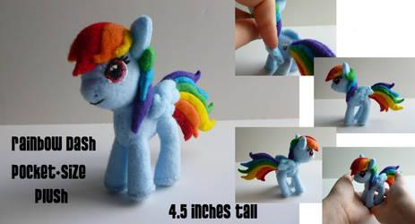 Rainbow Dash Pocket-size Plush