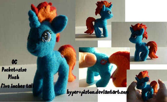 OC-Frostfire Pocket-size Pony Plush