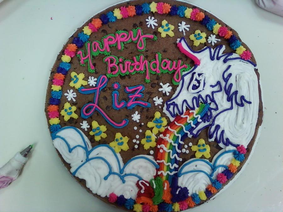 Unicorn Cookie Cake By Brokenlizard2 On DeviantArt