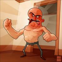 Angry Man by MathieuBeaulieu