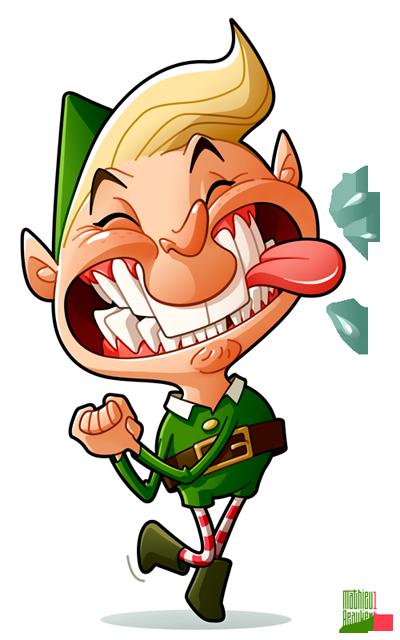 Happy Elf by MathieuBeaulieu